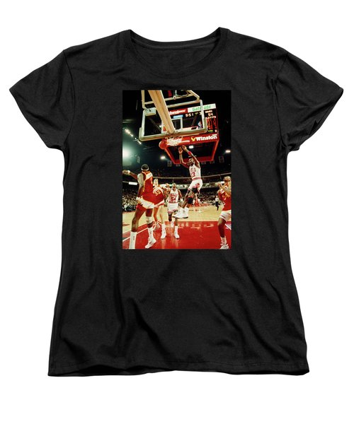 Basketball Match In Progress, Michael Women's T-Shirt (Standard Cut)