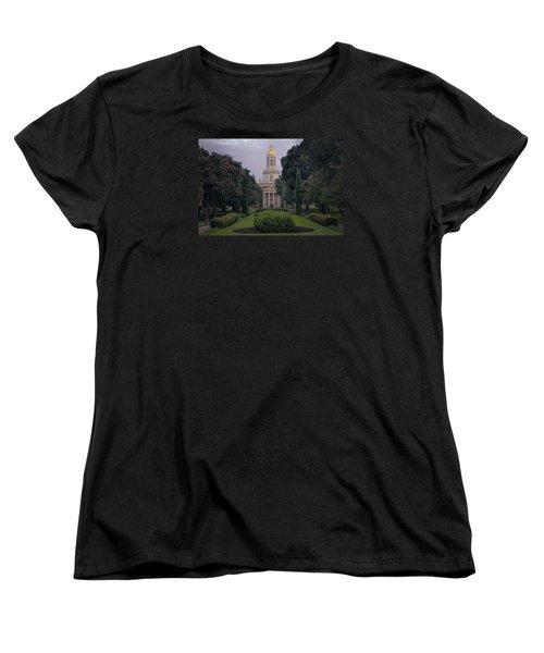 Baylor University Icon Women's T-Shirt (Standard Cut) by Joan Carroll