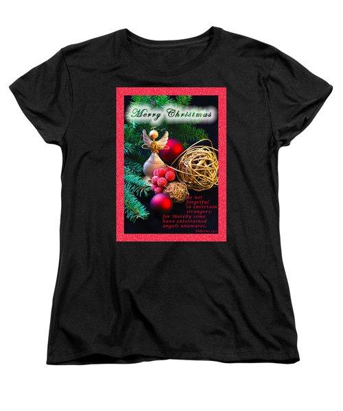 Be Good To An Angel-mc Women's T-Shirt (Standard Cut)