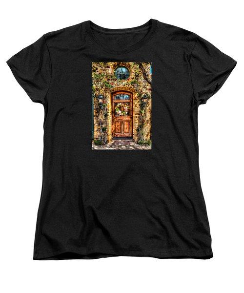Women's T-Shirt (Standard Cut) featuring the photograph Beautiful Entry by Jim Carrell