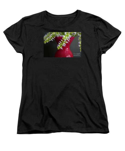 Women's T-Shirt (Standard Cut) featuring the photograph Beauty Hangs In The Balance by Ella Kaye Dickey