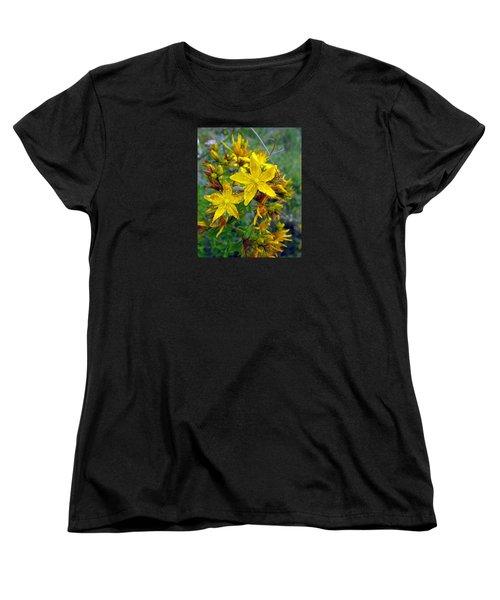 Beauty In A Weed Women's T-Shirt (Standard Cut) by I'ina Van Lawick