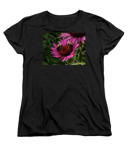 Women's T-Shirt (Standard Cut) featuring the photograph Beelievers by Lingfai Leung