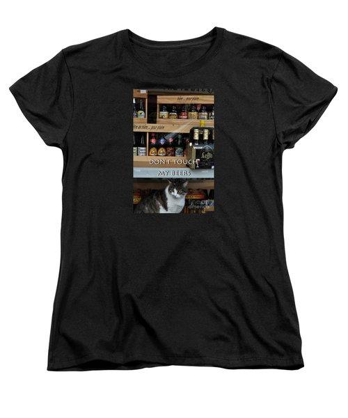 Beers Warden Women's T-Shirt (Standard Cut) by Simona Ghidini