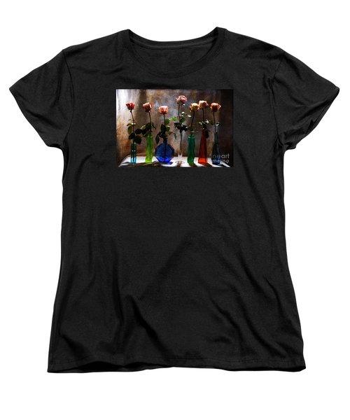 Before The Curtain Falls Women's T-Shirt (Standard Cut) by Randi Grace Nilsberg