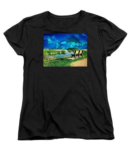 Believe In Your Dreams Women's T-Shirt (Standard Cut) by Carlos Avila