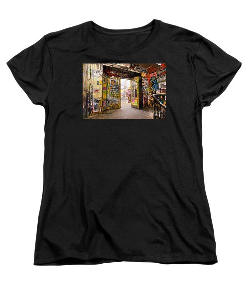 Berlin - The Kunsthaus Tacheles Women's T-Shirt (Standard Cut) by Luciano Mortula