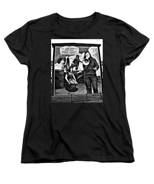 Bernadette Mural Women's T-Shirt (Standard Cut) by Nina Ficur Feenan