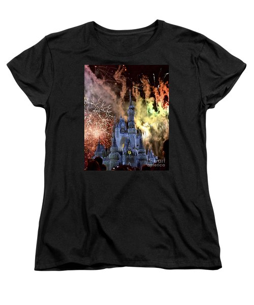 Christmas Wishes Women's T-Shirt (Standard Cut) by Carol  Bradley