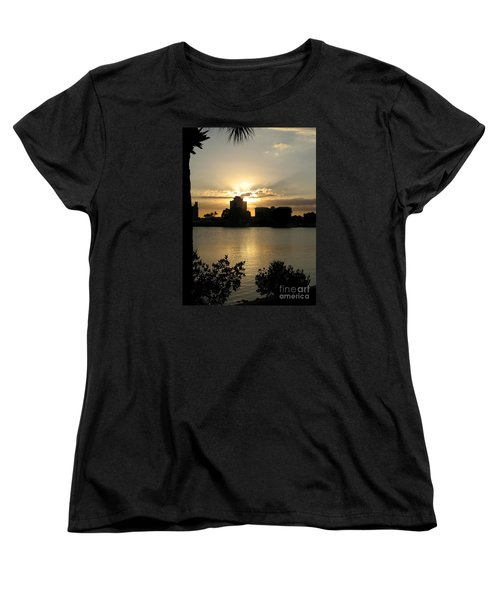 Between Day And Night Women's T-Shirt (Standard Cut) by Christiane Schulze Art And Photography