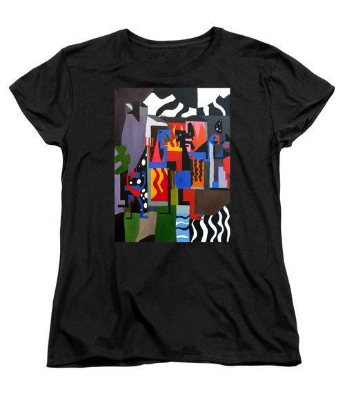 Bicloptochotik Women's T-Shirt (Standard Cut) by Ryan Demaree