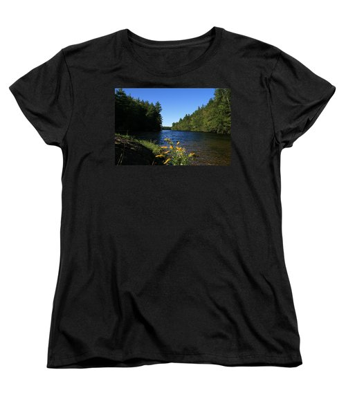 Women's T-Shirt (Standard Cut) featuring the photograph Bigelow Hollow  by Neal Eslinger
