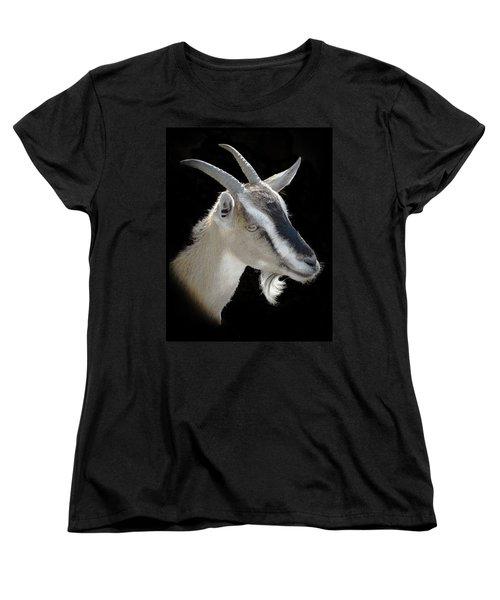Billy Goat Women's T-Shirt (Standard Cut) by Kenneth Cole