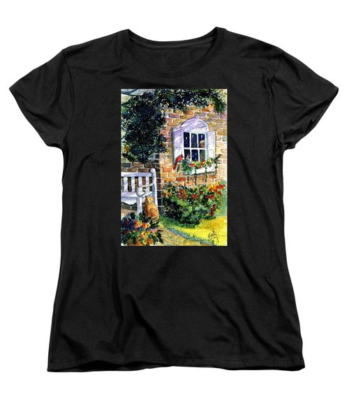 Bird's Eye View Women's T-Shirt (Standard Cut) by Marilyn Smith