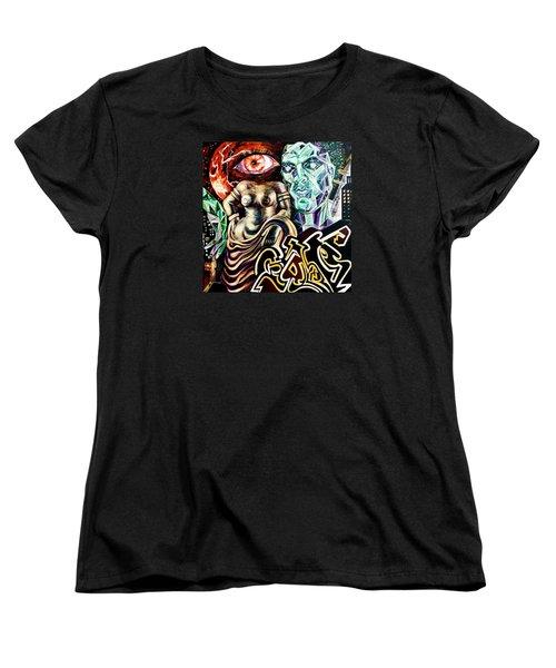 Birth Of Venus Women's T-Shirt (Standard Cut) by Yelena Tylkina