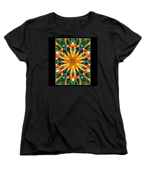 Birthday Lily For Erin Women's T-Shirt (Standard Cut) by Nick Heap