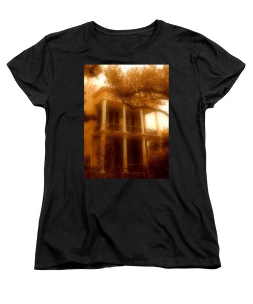 Birthplace Of A Vampire In New Orleans, Louisiana Women's T-Shirt (Standard Cut) by Michael Hoard