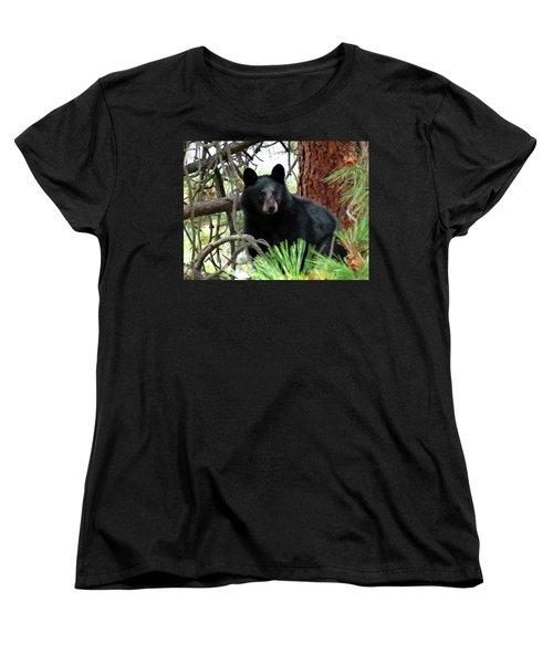 Black Bear 1 Women's T-Shirt (Standard Cut)