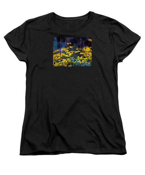 Black-eyed Susans Women's T-Shirt (Standard Cut) by Patricia Griffin Brett