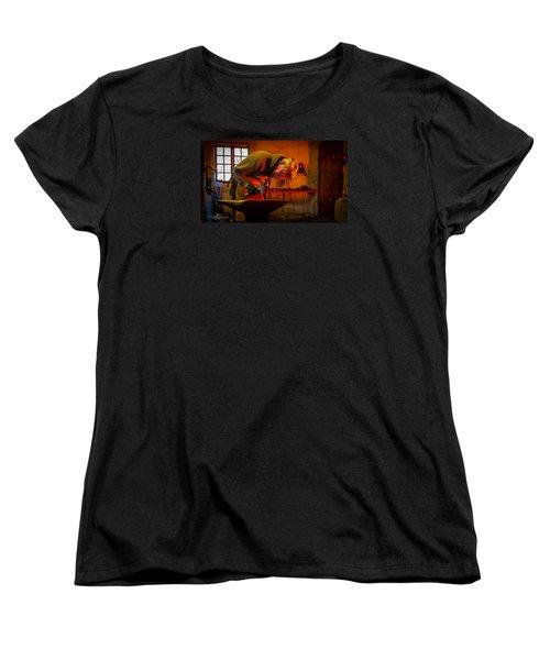 Blacksmith In Torresta Women's T-Shirt (Standard Cut) by Torbjorn Swenelius