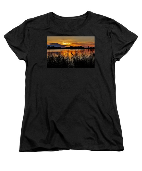 Blackwater Morning Women's T-Shirt (Standard Cut) by Robert Geary
