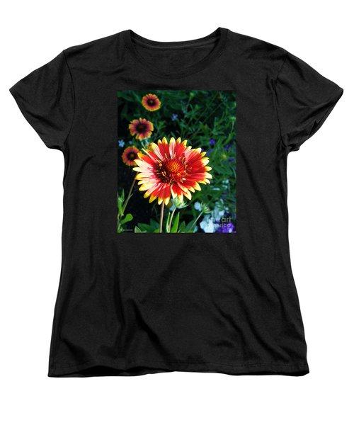 Blanket Flower Women's T-Shirt (Standard Cut) by Lizi Beard-Ward