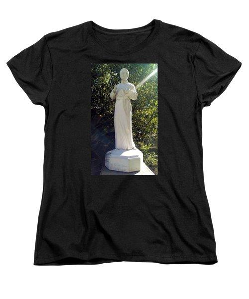 Blessed Francis Xavier Seelos C.ss.r. - New Orleans La  Women's T-Shirt (Standard Cut) by Deborah Lacoste