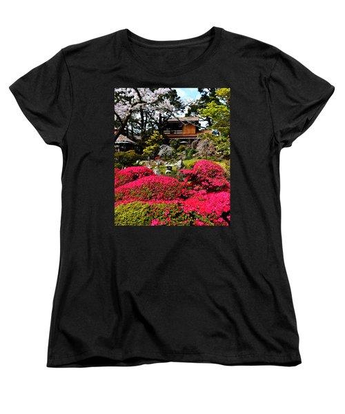 Blooming Gardens 2 Women's T-Shirt (Standard Cut) by Holly Blunkall
