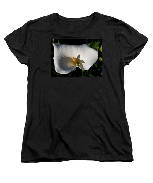 Blooming Lily Of San Francisco Women's T-Shirt (Standard Cut) by Emmy Marie Vickers