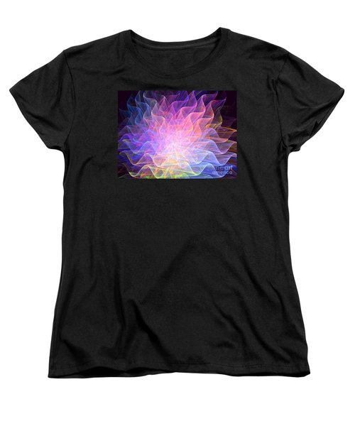 Blossoms Women's T-Shirt (Standard Cut) by Kim Sy Ok