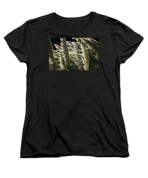 Blowing Free Women's T-Shirt (Standard Cut) by Ron Harpham