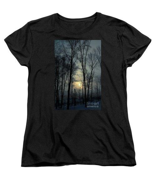 Blue Daybreak Women's T-Shirt (Standard Cut)