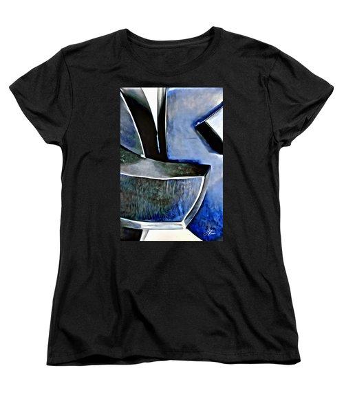 Blue Iron Women's T-Shirt (Standard Cut)