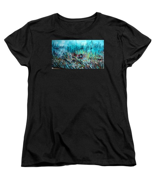 Blue Skies Chicago - Sold Women's T-Shirt (Standard Cut) by George Riney