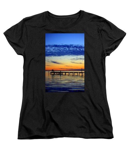 Women's T-Shirt (Standard Cut) featuring the photograph Blue Sky by Faith Williams