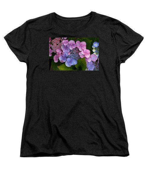 Blueberries And Cream Women's T-Shirt (Standard Cut) by Living Color Photography Lorraine Lynch