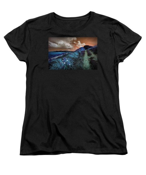 Bluegrass Women's T-Shirt (Standard Cut) by Linda Unger