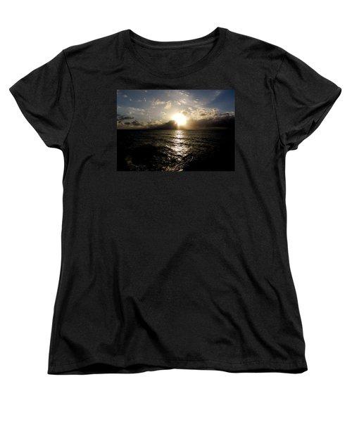 Women's T-Shirt (Standard Cut) featuring the photograph Blues @ Evening by Amar Sheow