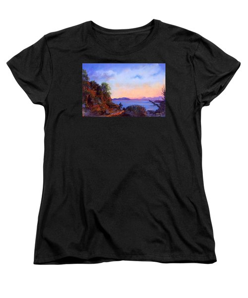Bluff Women's T-Shirt (Standard Cut) by Susan Will