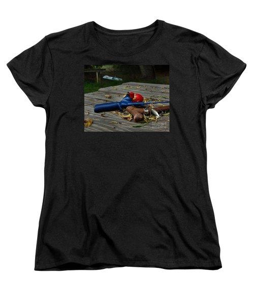 Women's T-Shirt (Standard Cut) featuring the photograph Blured Memories 02 by Peter Piatt