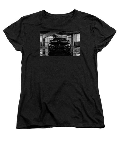 Women's T-Shirt (Standard Cut) featuring the digital art Bmw M4 by Douglas Pittman