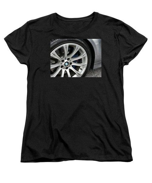 B M W M5 Women's T-Shirt (Standard Cut) by Beverly Stapleton