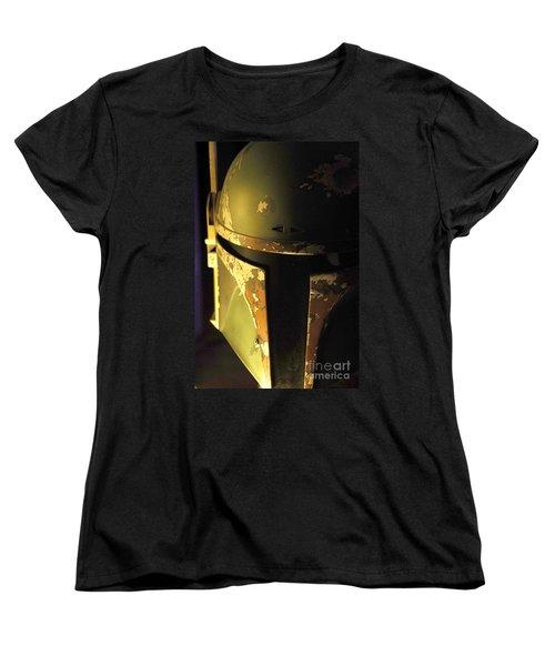 Boba Fett Helmet 124 Women's T-Shirt (Standard Cut) by Micah May