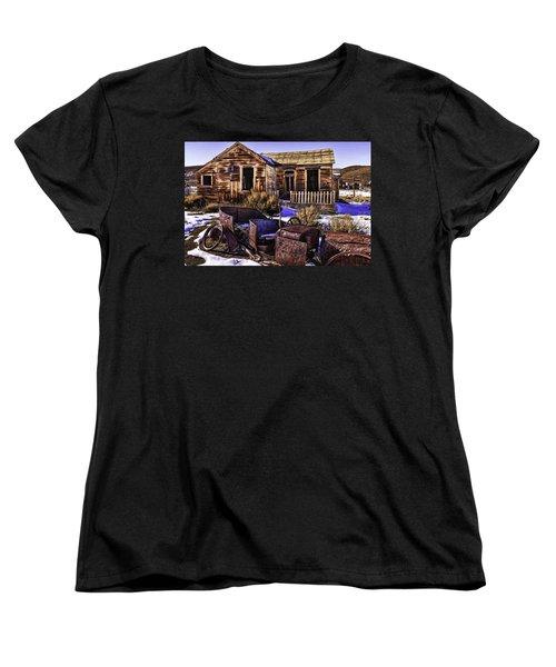 Women's T-Shirt (Standard Cut) featuring the painting Bodie by Muhie Kanawati