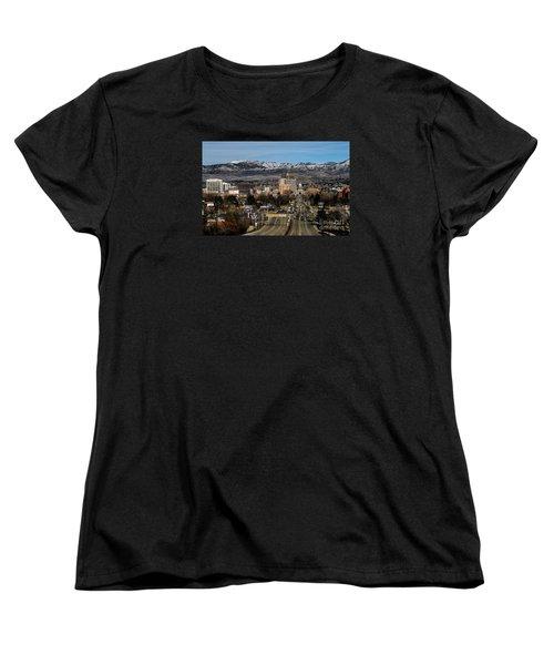 Boise Idaho Women's T-Shirt (Standard Cut) by Robert Bales