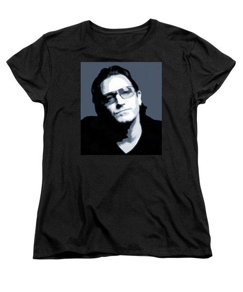 Bono Women's T-Shirt (Standard Cut) by Dan Sproul