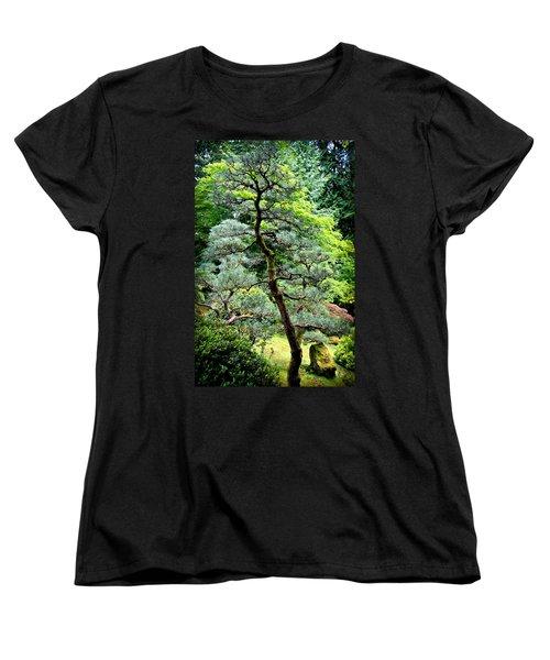 Bonsai Tree Women's T-Shirt (Standard Cut) by Athena Mckinzie
