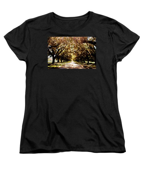 Boone Plantation Women's T-Shirt (Standard Cut) by Bill Howard