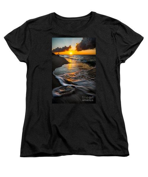 Boracay Sunset Women's T-Shirt (Standard Cut) by Adrian Evans