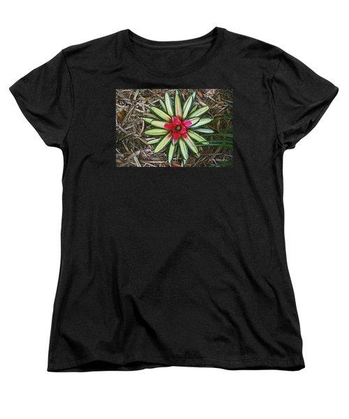 Women's T-Shirt (Standard Cut) featuring the photograph Botanical Flower by Tom Janca